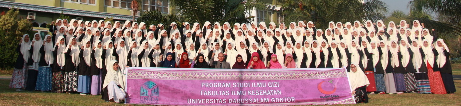 Department of Nutrition | The University of Darussalam Gontor