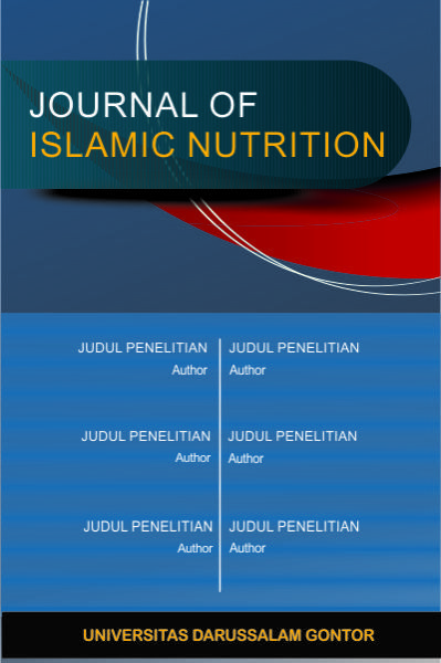 Journal of Islamic Nutrition